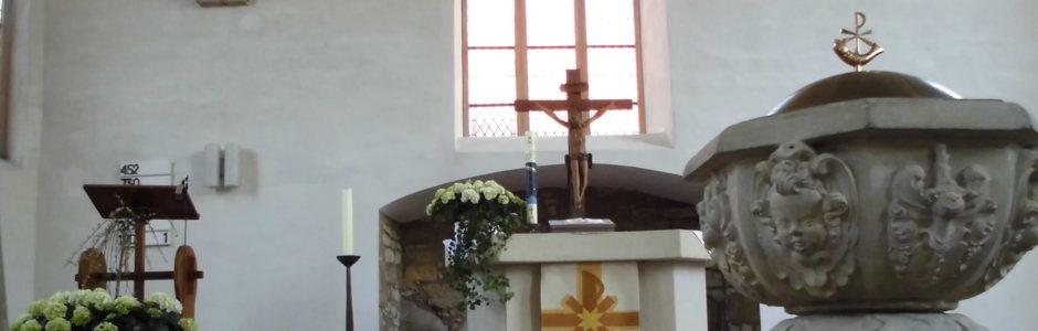 Kirche Petershagen Taufe